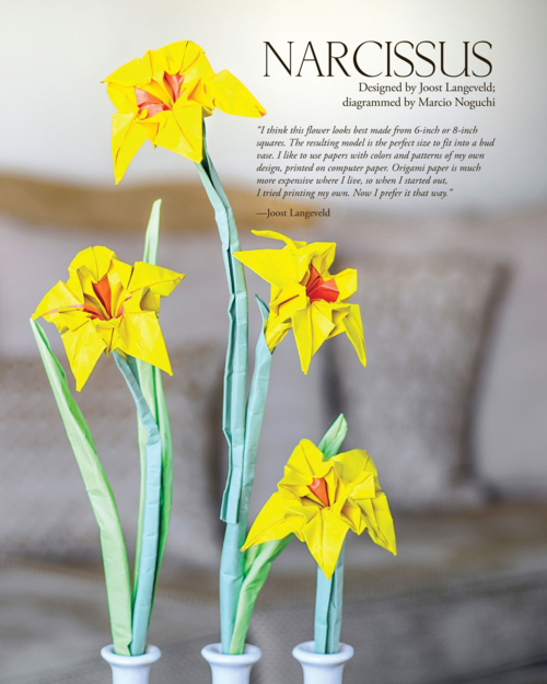 Origami-NARCISSUS-fr-Origami-Masters-Class-Flowers 2