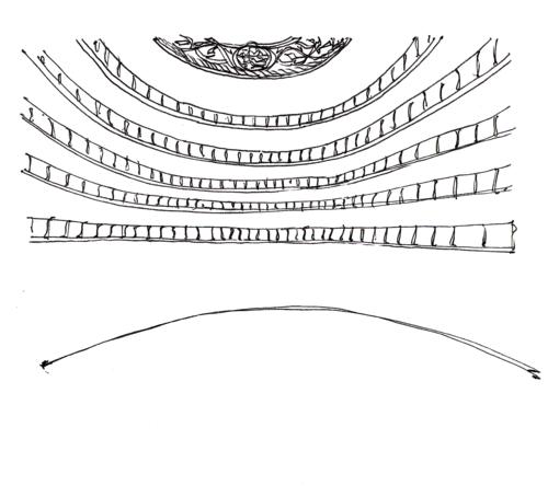 Metropolitan opera house sketch