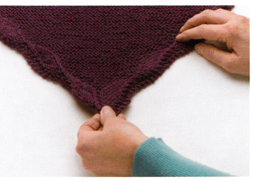 How to care for a knit shawl