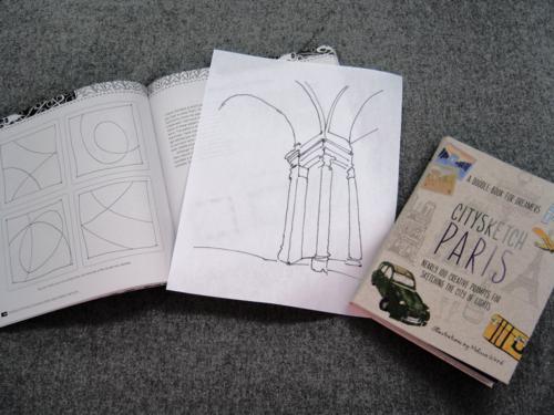 Zentangle doodle pantheon