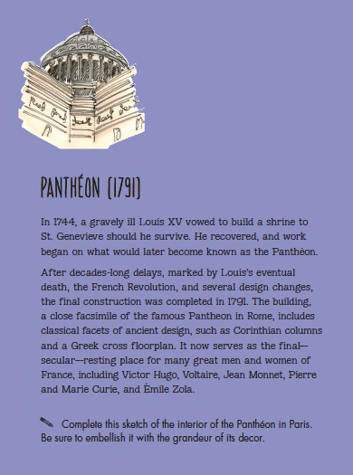 Pantheon history Citysketch