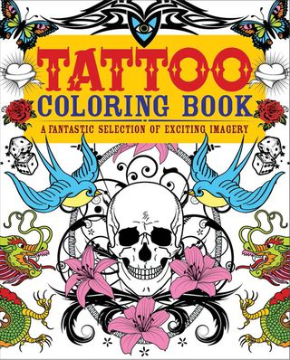 Tattoo-coloring-book