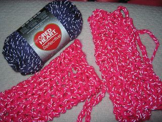Red-heart-reflective-yarn