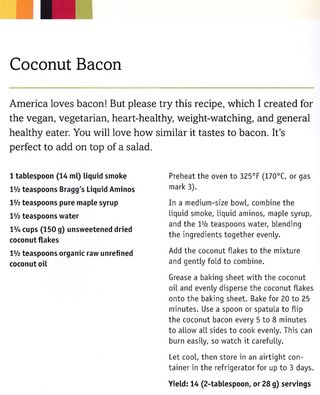 Recipe-how-to-make coconut-bacon