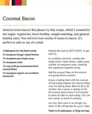 Recipe-how-to-make coconut-bacon