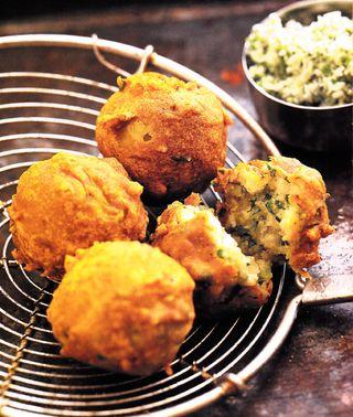 Recipe for potato bondas