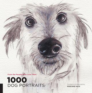 1000 dog portraits art