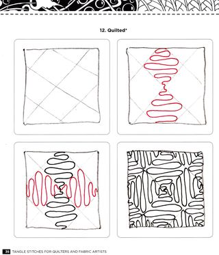 Quilted-zentangle-pattern-how-to