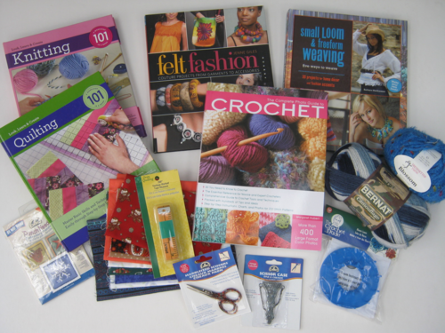 Crochet felting,scissor giveaway