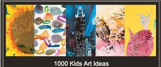 1000 kids art ideas