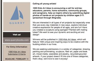Call for entries kids art