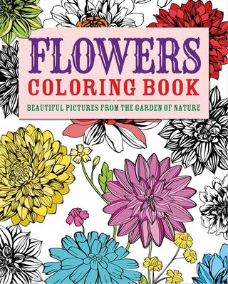Flowers-coloring-book
