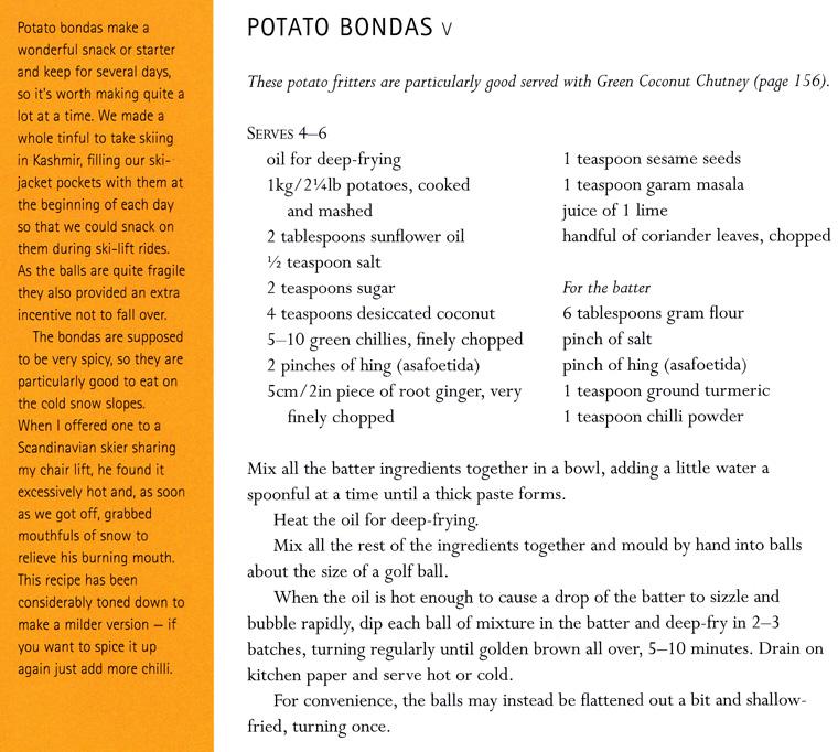 Craftside recipe for potato bondas from the book world food cafe how to make potato bondas forumfinder Choice Image