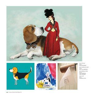 1000 dog portraits dog art