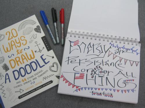 Benjamin-franklin quote doodle