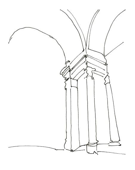 Pantheon sketch zentangle Citysketch paris copy