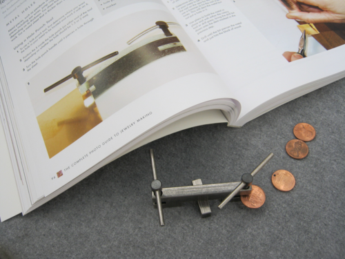 How to drill holes in pennies