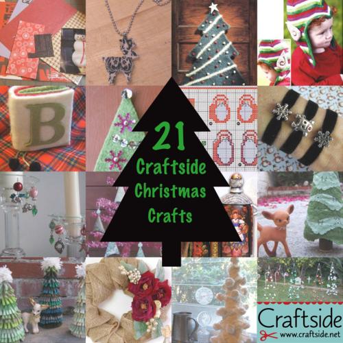 21 christmas crafts craftside