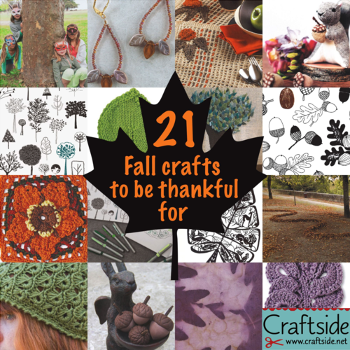 21 Thanksgiving Crafts Craftside